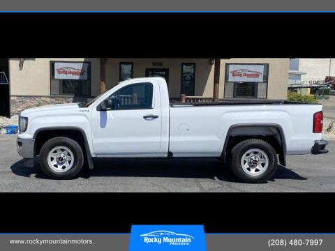 2017 GMC Sierra 1500 for sale at Rocky Mountain Motors in Idaho Falls ID