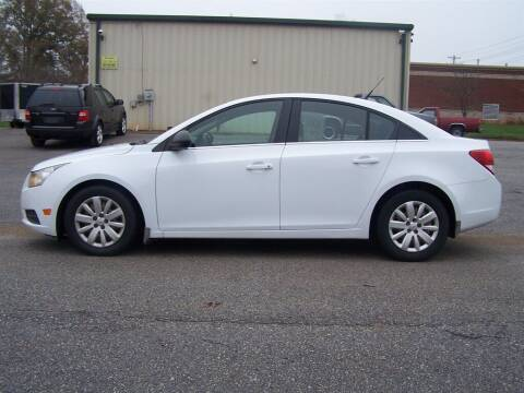 2011 Chevrolet Cruze for sale at Darin Grooms Auto Sales in Lincolnton NC