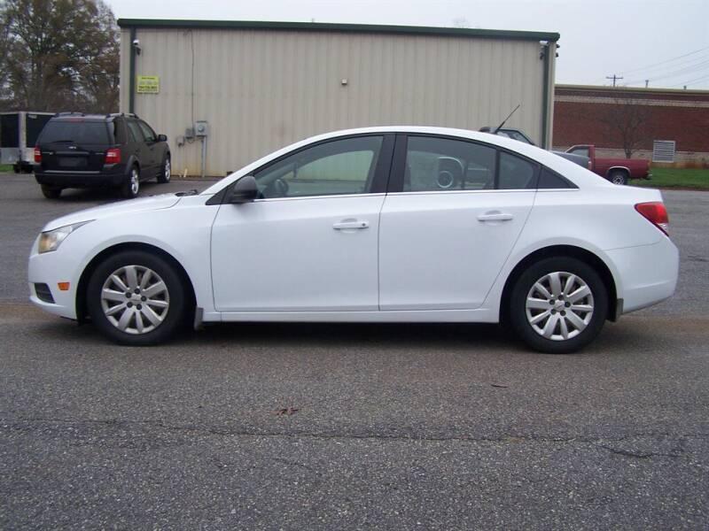 2011 Chevrolet Cruze for sale at Darin Grooms Auto Sales in Lincolnton NC