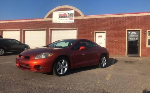 2007 Mitsubishi Eclipse for sale at Family Auto Finance OKC LLC in Oklahoma City OK