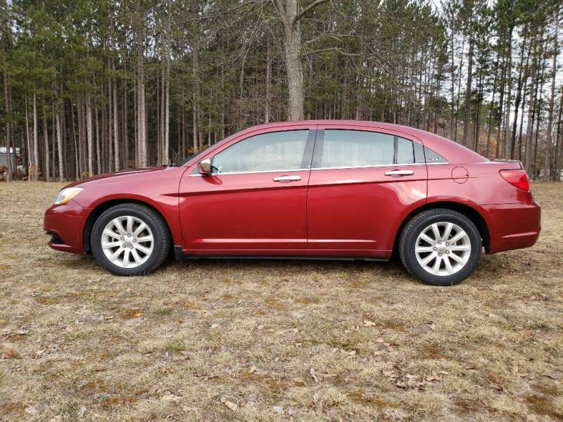 2014 Chrysler 200 for sale at McLain's Auto Sales in Lake City MI
