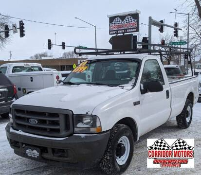 2004 Ford F-250 Super Duty for sale at Corridor Motors in Cedar Rapids IA