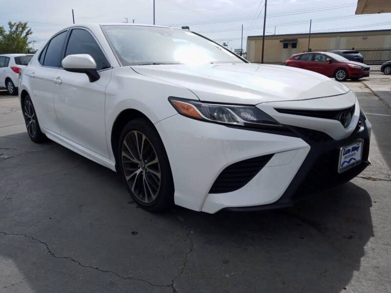 2018 Toyota Camry for sale at Auto Haus Imports in Grand Prairie TX