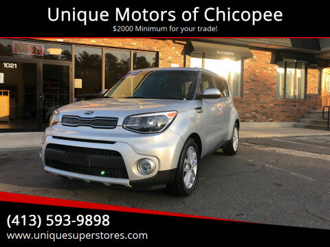 2019 Kia Soul for sale at Unique Motors of Chicopee in Chicopee MA
