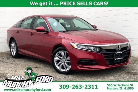 2019 Honda Accord for sale at Mike Murphy Ford in Morton IL
