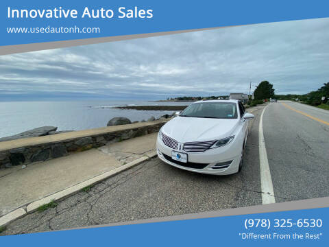 2014 Lincoln MKZ for sale at Innovative Auto Sales in North Hampton NH