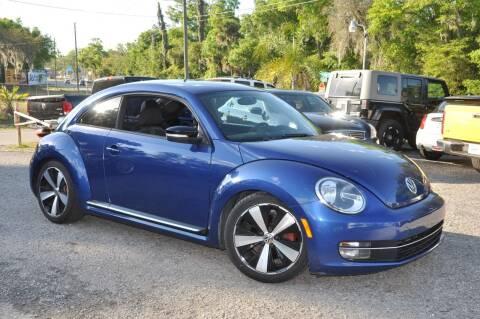2012 Volkswagen Beetle for sale at Elite Motorcar, LLC in Deland FL