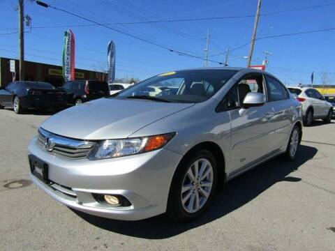 2012 Honda Civic for sale at A & A IMPORTS OF TN in Madison TN