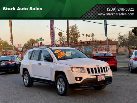 2016 Jeep Compass for sale at Stark Auto Sales in Modesto CA