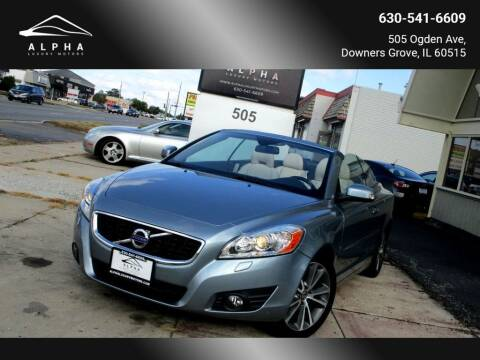 2011 Volvo C70 for sale at Alpha Luxury Motors in Downers Grove IL