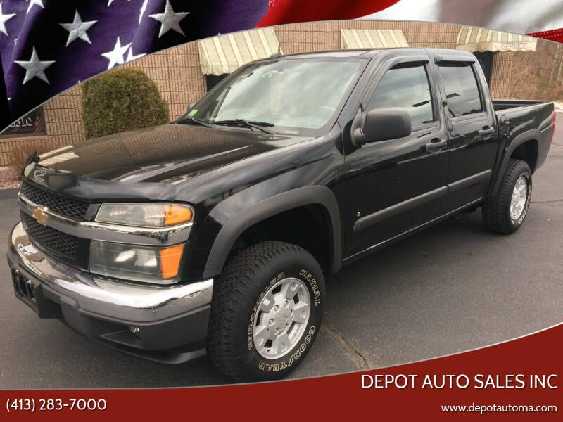 2008 Chevrolet Colorado for sale at Depot Auto Sales Inc in Palmer MA