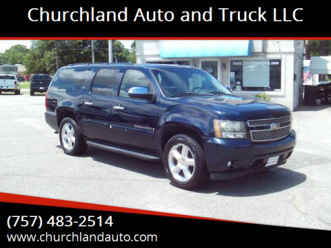 2008 Chevrolet Suburban for sale at Churchland Auto and Truck LLC in Portsmouth VA