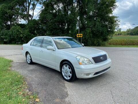 2002 Lexus LS 430 for sale at Tennessee Valley Wholesale Autos LLC in Huntsville AL