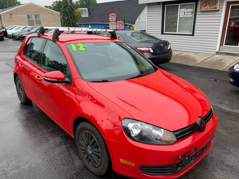 2012 Volkswagen Golf for sale at OZ BROTHERS AUTO in Webster NY