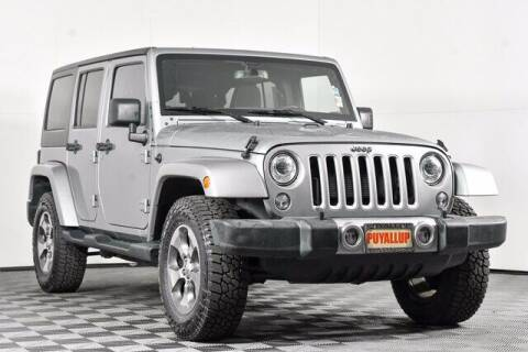 2018 Jeep Wrangler JK Unlimited for sale at Chevrolet Buick GMC of Puyallup in Puyallup WA