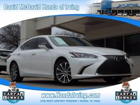 2019 Lexus ES 350 for sale at DAVID McDAVID HONDA OF IRVING in Irving TX