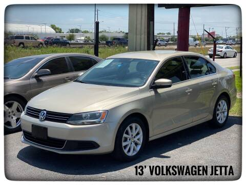2013 Volkswagen Jetta for sale at ASTRO MOTORS in Houston TX