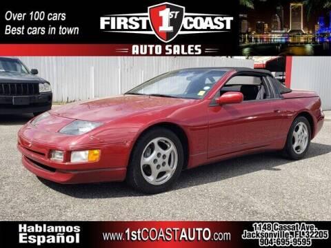 1993 Nissan 300ZX for sale at 1st Coast Auto -Cassat Avenue in Jacksonville FL