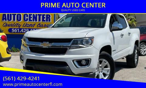 2017 Chevrolet Colorado for sale at PRIME AUTO CENTER in Palm Springs FL