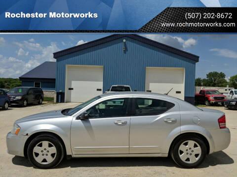 2009 Dodge Avenger for sale at Rochester Motorworks in Rochester MN
