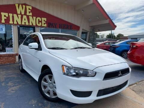 2015 Mitsubishi Lancer for sale at Caspian Auto Sales in Oklahoma City OK