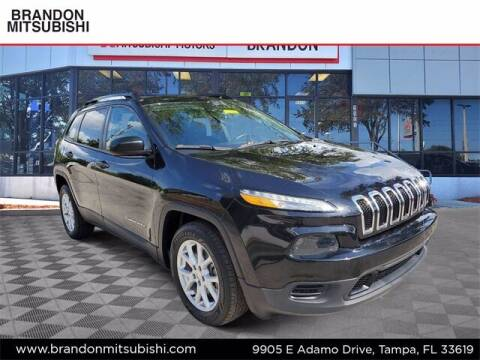 2016 Jeep Cherokee for sale at Brandon Mitsubishi in Tampa FL