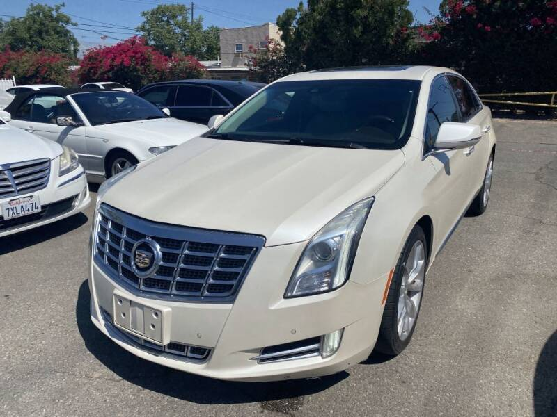 2013 Cadillac XTS for sale at AutoHaus in Colton CA