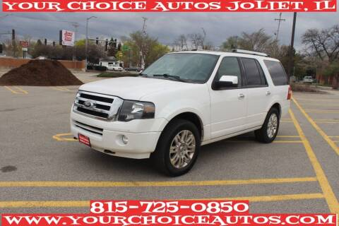 2012 Ford Expedition for sale at Your Choice Autos - Joliet in Joliet IL