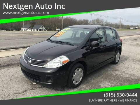 2009 Nissan Versa for sale at Nextgen Auto Inc in Smithville TN