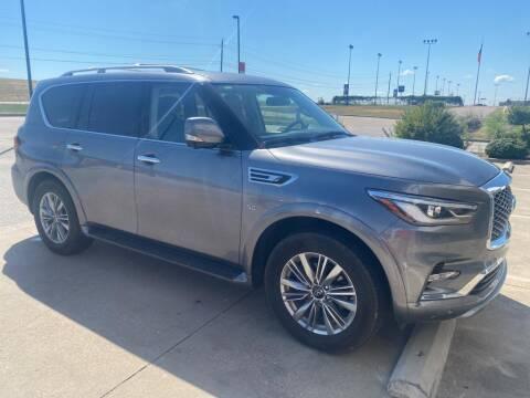2018 Infiniti QX80 for sale at Stanley Chrysler Dodge Jeep Ram Gatesville in Gatesville TX