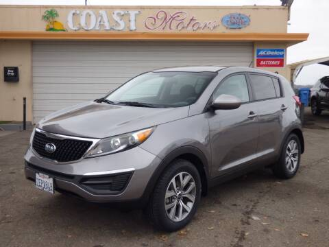 2014 Kia Sportage for sale at Coast Motors in Arroyo Grande CA