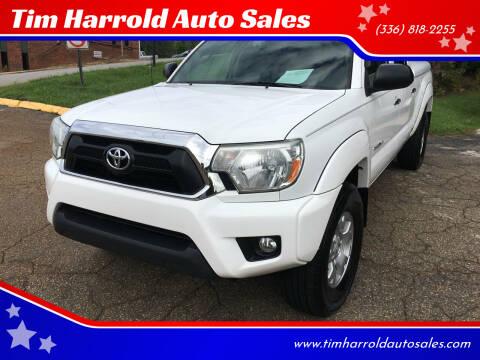 2012 Toyota Tacoma for sale at Tim Harrold Auto Sales in Wilkesboro NC