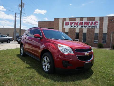 2015 Chevrolet Equinox for sale at DYNAMIC AUTO SPORTS in Addison IL