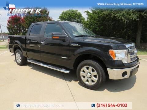 2013 Ford F-150 for sale at HOPPER MOTORPLEX in Mckinney TX