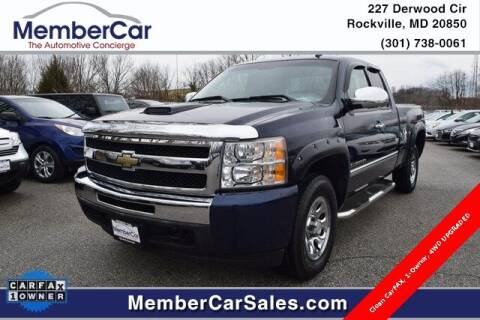 2011 Chevrolet Silverado 1500 for sale at MemberCar in Rockville MD
