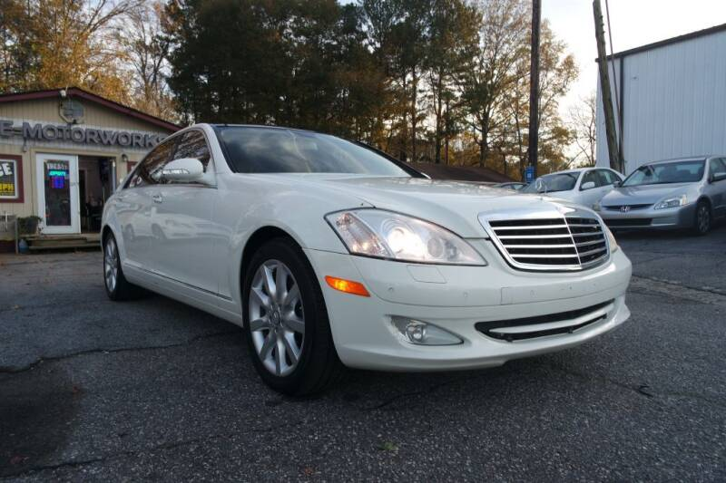 2008 Mercedes-Benz S-Class for sale at E-Motorworks in Roswell GA