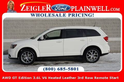 2019 Dodge Journey for sale at Zeigler Ford of Plainwell- Jeff Bishop in Plainwell MI