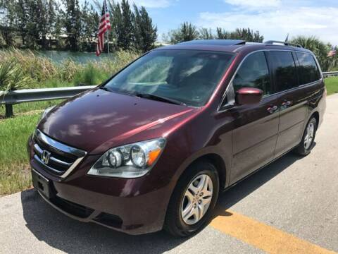 2007 Honda Odyssey for sale at Rosa's Auto Sales in Miami FL