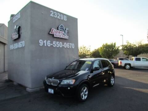 2011 BMW X3 for sale at LIONS AUTO SALES in Sacramento CA