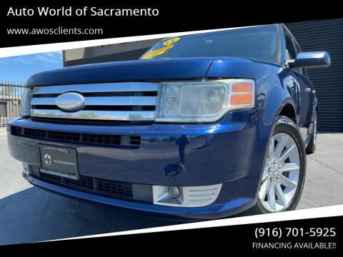 2012 Ford Flex for sale at Auto World of Sacramento Stockton Blvd in Sacramento CA