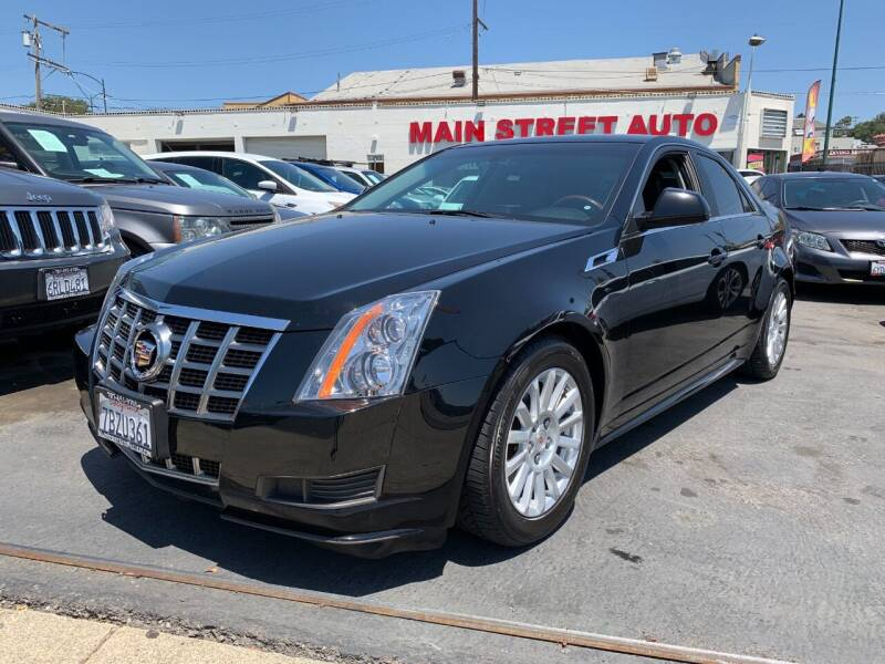 2012 Cadillac CTS for sale in Vallejo, CA
