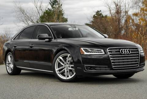 2015 Audi A8 L for sale at Vantage Auto Wholesale in Lodi NJ