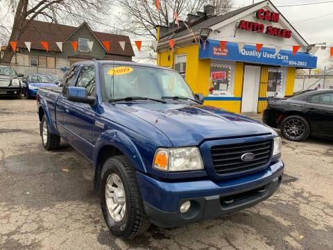 2009 Ford Ranger for sale at C & M Auto Sales in Detroit MI