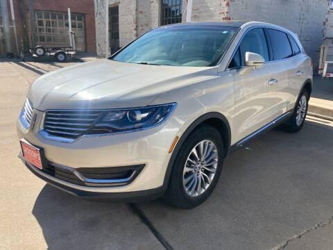 2018 Lincoln MKX for sale at Jacksons Car Corner Inc in Hastings NE