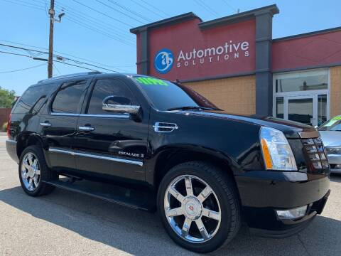 2008 Cadillac Escalade for sale at Automotive Solutions in Louisville KY