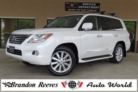 2009 Lexus LX 570 for sale at Brandon Reeves Auto World in Monroe NC