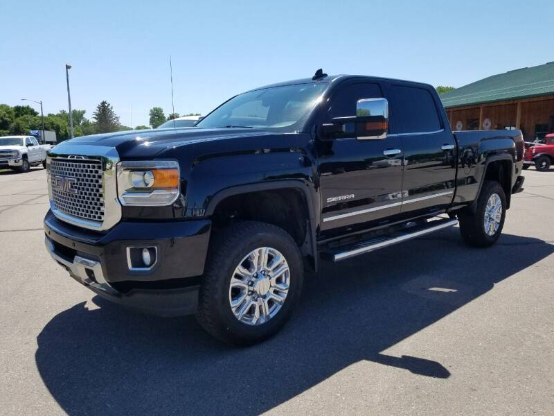 2016 GMC Sierra 3500HD for sale at Pro Auto Sales and Service in Ortonville MN
