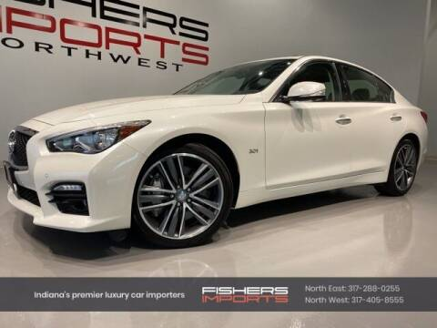 2017 Infiniti Q50 for sale at Fishers Imports in Fishers IN