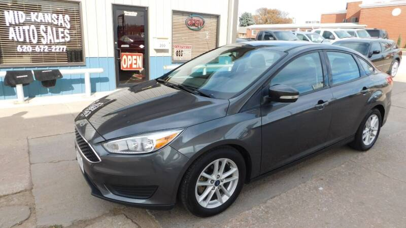 2016 Ford Focus for sale at Mid Kansas Auto Sales in Pratt KS