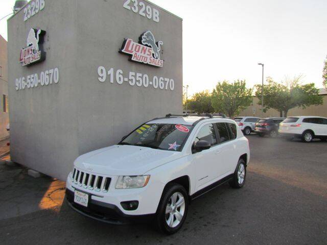2012 Jeep Compass for sale at LIONS AUTO SALES in Sacramento CA